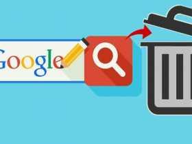 آموزش پاک کردن تاریخچهی جستجوهای گوگل