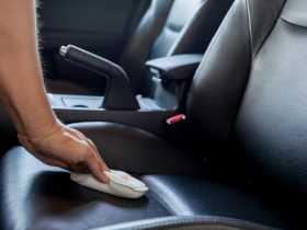 صندلیهای چرم خودرو را چگونه تمیز کنیم؟