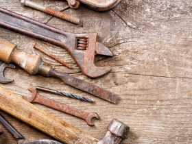 روشهای از بین بردن زنگزدگی وسایل خانه