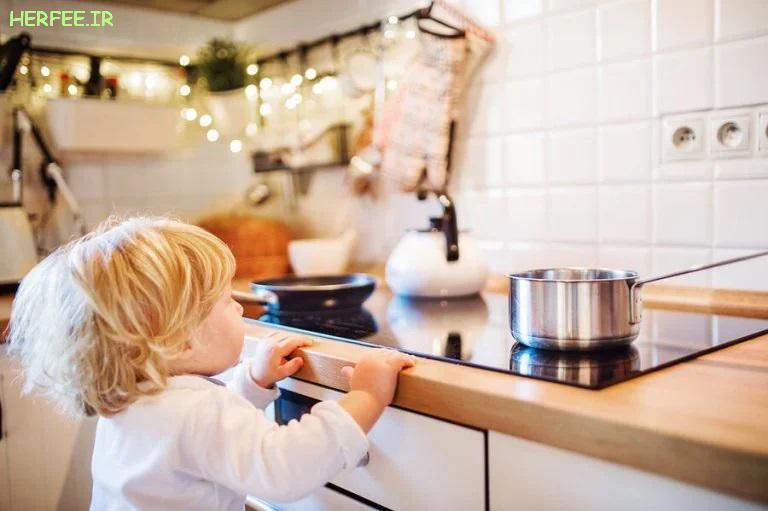 نحوه درمان سوختگی در کودکان