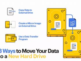 انتقال اطلاعات به هارد دیسک جدید