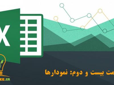 آموزش اکسل (Excel) - قسمت بیست و دوم - نمودارها