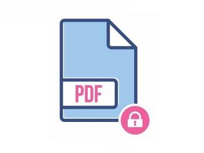 نحوه رمز گذاشتن برای فایل PDF