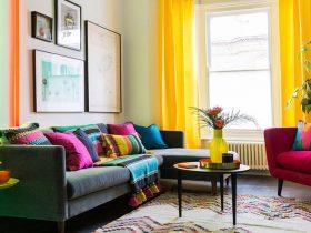 ۵ قدم برای داشتن یک خانهی شاد و رنگارنگ