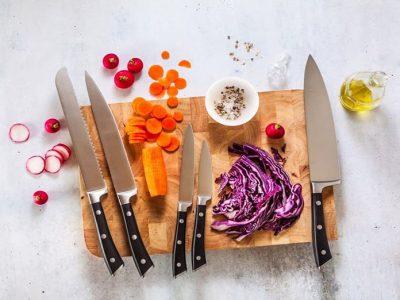 انواع چاقوی آشپزخانه و کاربردهای آنها