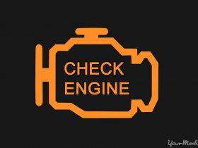 روشن بودن چراغ چک موتور به چه معناست؟