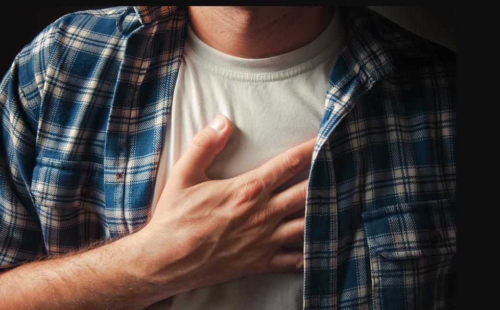 دلایل درد قفسه سینه هنگام تنفس