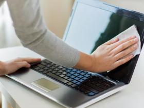 چگونه صفحه نمایش لپ تاپ را تمیز کنیم؟