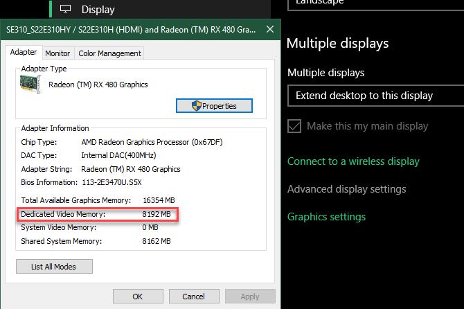 نحوه افزایش VRAM در ویندوز 10